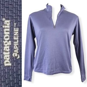 PATAGONIA Capilene Midweight 1/4 Zip Pullover M